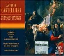 """Antonio Casimir Cartellieri (1772-1807): Weihnachtsoratorium """"La Celebre Nativita del Redentore"""", SACD"""