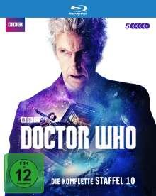 Doctor Who Staffel 10 (Blu-ray), 5 Blu-ray Discs