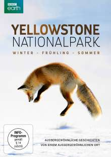 Yellowstone Nationalpark: Winter - Frühling - Sommer, DVD