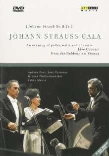 Wiener Philharmoniker - Johann Strauss Gala, DVD