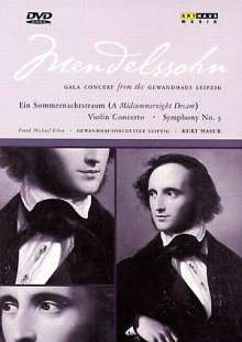 "Felix Mendelssohn Bartholdy (1809-1847): Symphonie Nr.3 ""Schottische"", DVD"