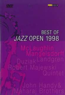The Best Of Jazz Open 1998, DVD