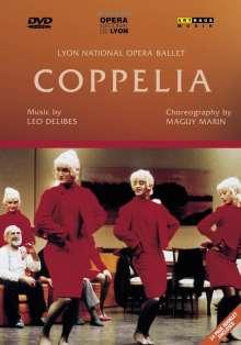 Lyon Opera Ballet:Coppelia (Delibes), DVD