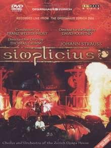 Johann Strauss II (1825-1899): Simplicius, DVD