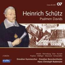 Heinrich Schütz (1585-1672): Psalmen Davids SWV 22-47 (Carus Schütz-Edition Vol. 8), 2 SACDs