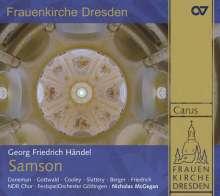 Georg Friedrich Händel (1685-1759): Samson, 3 SACDs