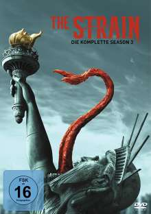 The Strain Staffel 3, 3 DVDs