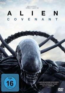 Alien: Covenant, DVD