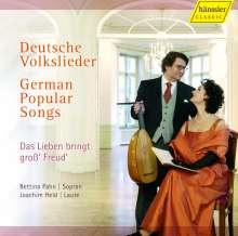 Bettina Pahn - Deutsche Volkslieder, CD