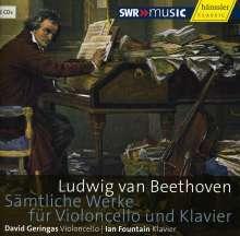 Ludwig van Beethoven (1770-1827): Sämtliche Werke für Cello & Klavier, 3 CDs