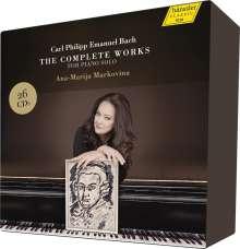 Carl Philipp Emanuel Bach (1714-1788): Sämtliche Klavierwerke, 26 CDs