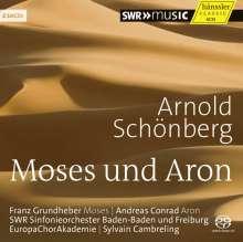 Arnold Schönberg (1874-1951): Moses & Aron, 2 SACDs