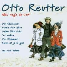 Otto Reutter: Alles weg'n de Leut', CD