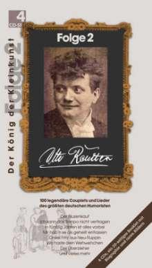 Otto Reutter: Der König der Kleinkunst Folge 2, 4 CDs