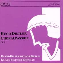 Hugo Distler (1908-1942): Choralpassion op.7, CD