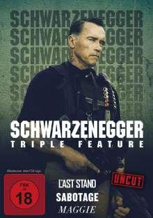 Arnold Schwarzenegger Triple Feature, 3 DVDs