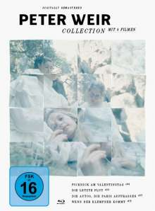 Peter Weir Collection (Blu-ray), 4 Blu-ray Discs