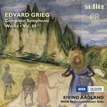 Edvard Grieg (1843-1907): Sämtliche Orchesterwerke Vol.3, SACD