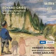 Edvard Grieg (1843-1907): Sämtliche Orchesterwerke Vol.4, SACD