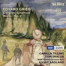 Edvard Grieg (1843-1907): Sämtliche Orchesterwerke Vol. 5, SACD