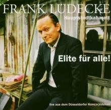 Frank Lüdecke: Elite für alle!, CD