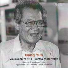 Isang Yun (1917-1995): Violinkonzert, CD