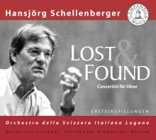 Hansjörg Schellenberger - Lost & Found, CD