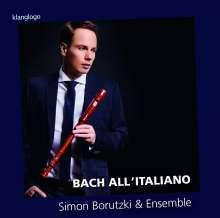 Simon Borutzki - Bach All'Italiano, CD