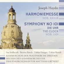 "Joseph Haydn (1732-1809): Messe Nr.14 ""Harmoniemesse"", CD"