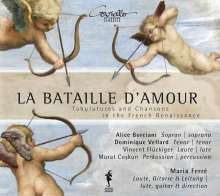 La Bataille D'Amour - Tabulatures & Chansons in the French Renaissance, CD