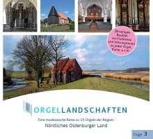 Orgellandschaften Vol.3, CD