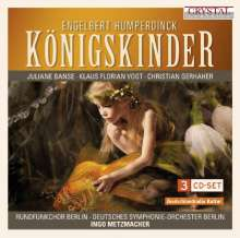 Engelbert Humperdinck (1854-1921): Königskinder, 3 CDs