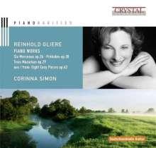 Reinhold Gliere (1875-1956): Klavierwerke, CD