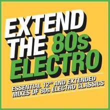 Extend the 80s-Electro, 3 CDs