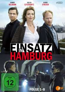 Einsatz in Hamburg Box 1, 4 DVDs