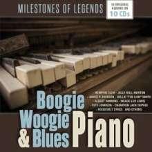 Boogie Woogie & Blues Piano, 10 CDs