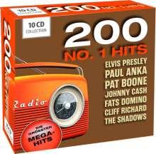 200 No. 1 Hits - Die größten Megahits, 10 CDs