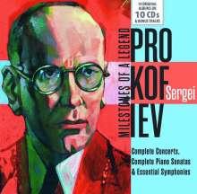 Serge Prokofieff (1891-1953): Serge Prokofieff - Milestones of a Legend, 10 CDs