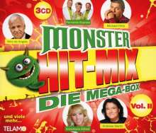 Monster Hit-Mix: Die Mega-Box Vol.2, 3 CDs