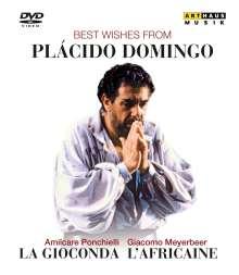 Placido Domingo - Best Wishes From Placido Domingo (2 Operngesamtaufnahmen), DVD