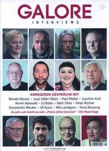 Zeitschriften: GALORE - Menschen. Meinungen. Motive. Ausgabe 23, Zeitschrift