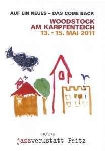 Woodstock am Karpfenteich: 13. - 15. Mai 2011 (CD + DVD), CD