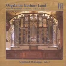 Orgelland Thüringen Vol.3 - Orgeln im Gothaer Land, CD