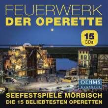 Feuerwerk der Operette - 15 Operetten der Seefestspiele Mörbisch, 15 CDs