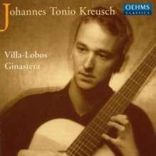 Johannes Tonio Kreusch,Gitarre, CD