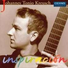 Johannes Tonio Kreusch - Inspiracion, CD