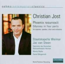 Christian Jost (geb. 1963): Phoenix Resurrexit (Odyssey in 4 Parts), CD