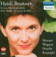 Heidi Brunner singt Lieder, CD
