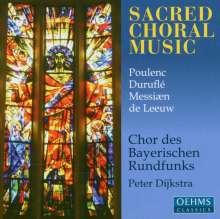 Chor des Bayerischen Rundfunks - Sacred Choral Music, CD