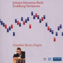 Johann Sebastian Bach (1685-1750): Goldberg-Variationen BWV 988 für Orgel, SACD